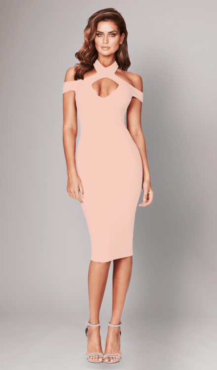 Blush Hollywood Midi Dress - Nookie