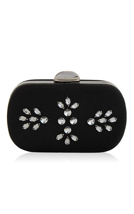 Catania Crystal Silk Clutch - Inge Christopher
