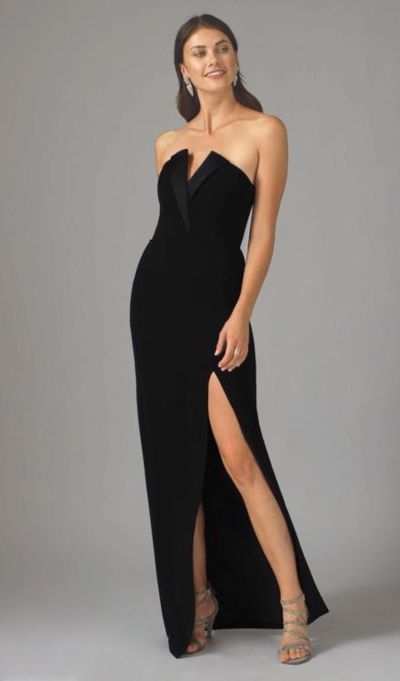 Sylvia Strapless Gown