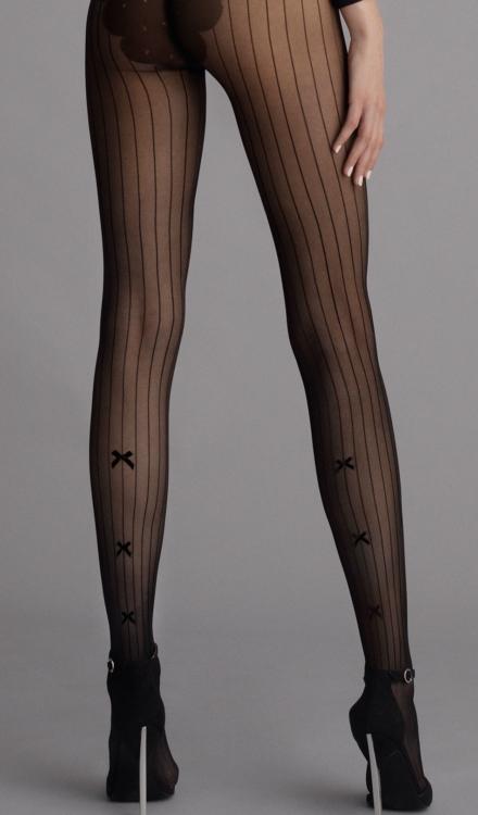 Adriana Striped Tights -Fiore