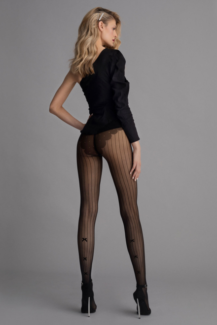 Adriana Striped Tights -Fiore