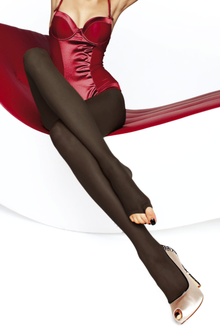 Eveline Black Tights -Fiore