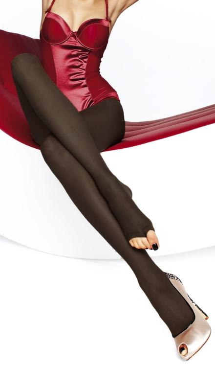 Eveline Black Tights -Fiore