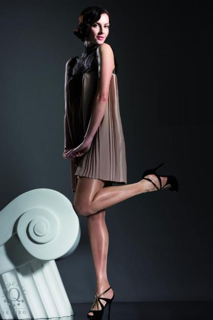 Idalia Glossy Tights -Fiore