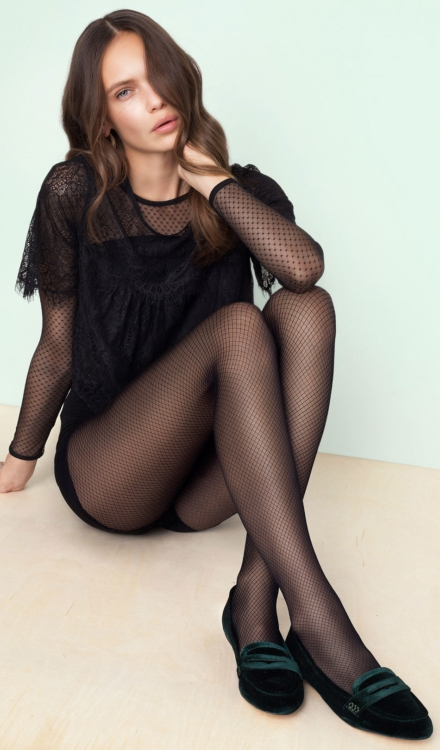 Supernatural Fishnet Tights -Fiore