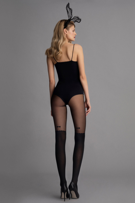 Vintage Bow Tights - Fiore