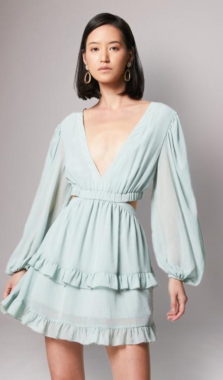Dress Rental - Shale Dress Elliatt