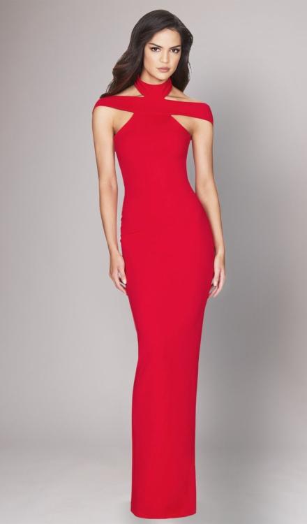 Gabrielle Red Gown - Nookie - Dress Rental