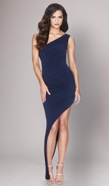 Rosie One Shoulder Gown - Nookie - Dress Rental