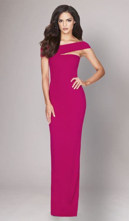 Tyler Pink Gown - Nookie - Dress Rental
