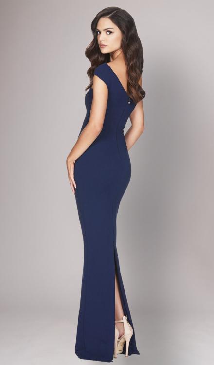 Tyler Navy Gown - Nookie - Dress Rental