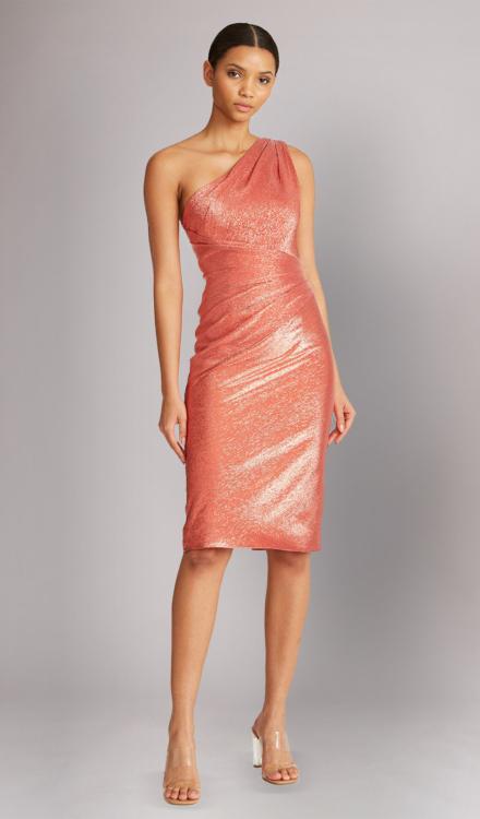 One Shoulder Dress - THEIA Dress Rental