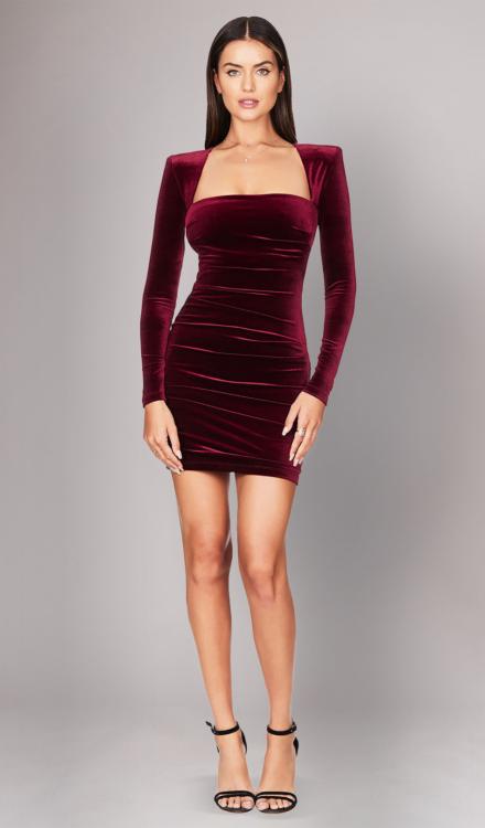 Mercury Wine Mini Dress - Nookie